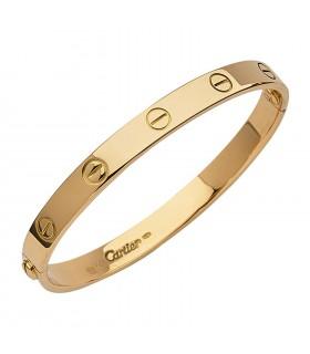 Cartier Love gold bracelet Size 18