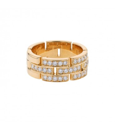 Cartier Maillon Panthère diamonds and gold ring