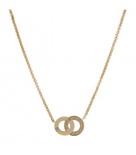 Piaget Possession You & Me diamonds and gold necklace