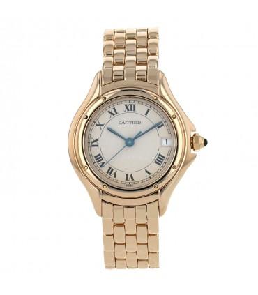 Cartier Cougar gold watch