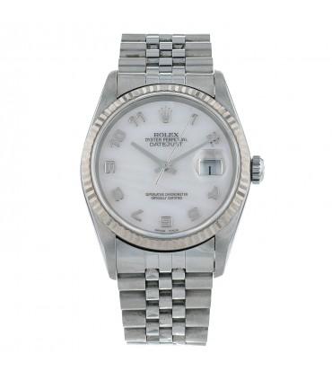 Rolex DateJust stainless steel watch
