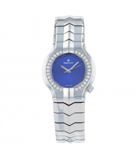 Tag Heuer Alter Ego diamonds and stainless steel watch