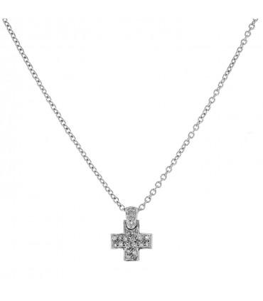 Pomellato diamonds and gold necklace
