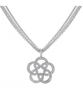 Diamonds and gold necklace