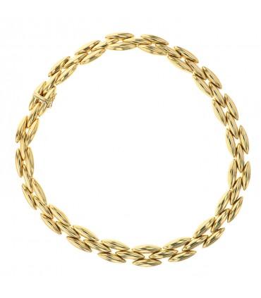 Cartier Gentiane gold necklace