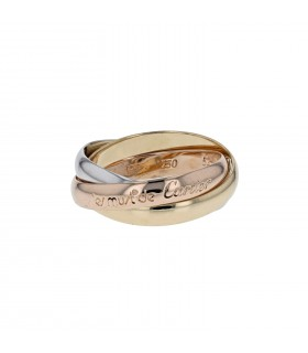 Cartier Trinity gold ring