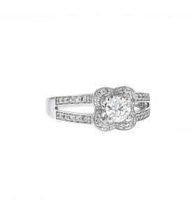 Mauboussin Chance of Love N°3 diamonds and gold ring