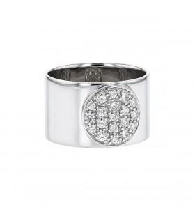 Dinh Van Anthéa diamonds and gold ring