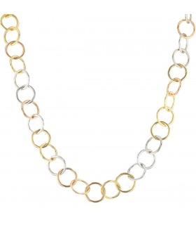 Pomellato Lucciole diamond and gold necklace