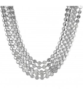 Hermès silver necklace