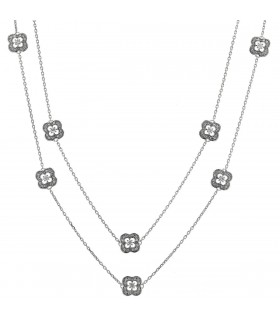 Mauboussin Chance Of My Life diamonds and gold necklace