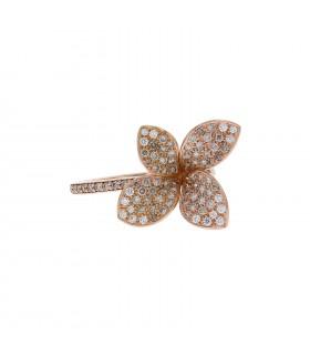Pasquale Bruni Petit Garden diamonds and gold ring