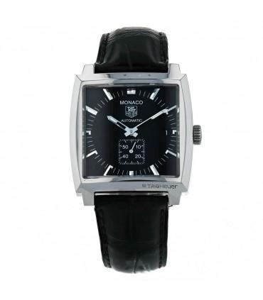 Tag Heuer Monaco stainless steel watch