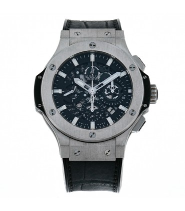 Hublot Big Bang Aéro Bang stainless steel and ceramic watch
