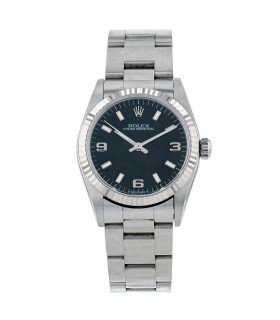 Rolex Oyster Perpetual stainless steel and gold watch