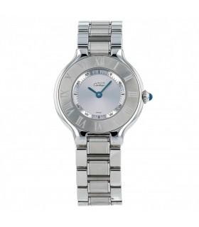 Cartier Must 21 stainless steel watch