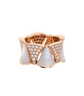 Bulgari Divas' Dream diamonds and gold ring