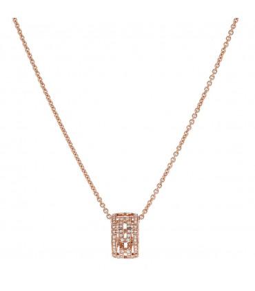 Bulgari Parentesi diamonds and gold necklace