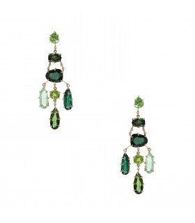 H. Stern Primavera tourmalines and gold earrings
