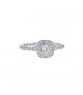 Tiffany & Co. diamonds and platinum ring
