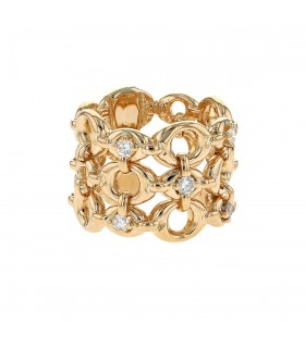 Dior diamonds and gold ring