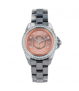 Chanel J12 Chromatic diamonds, stainless steel and ceramic watch