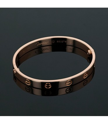 Cartier Love gold bracelet Size 16