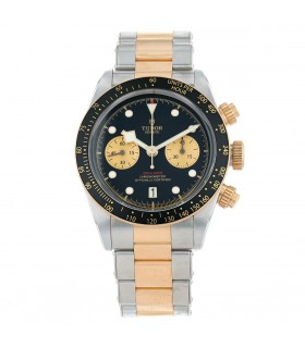 Tudor Black Bay stainless steel and gold watch Circa 2019