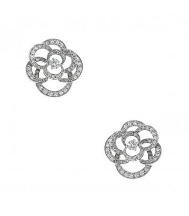Boucles d'oreilles Chanel Camélia