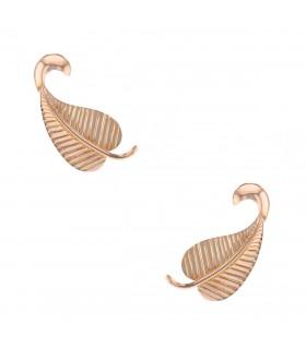 Boucles d'oreilles feuille