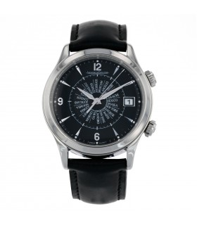 Jaeger Lecoultre Memovox World Time watch