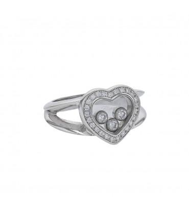 Chopard Happy Diamonds diamonds and gold ring