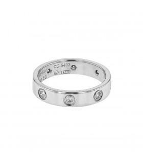 Bague Cartier Alliance Love 8 Diamants