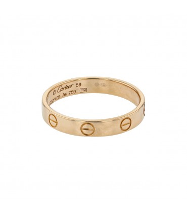 Cartier Love gold ring