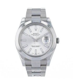 Rolex DateJust II stainless steel watch Circa 2013