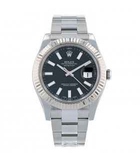 Rolex DateJust stainless steel and gold watch