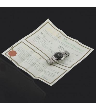 Rolex Explorer stainless steel watch