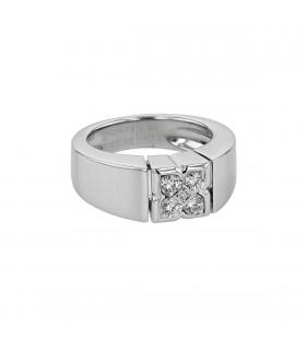 Van Cleef & Arpels diamonds and gold ring