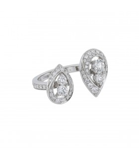 Chaumet Rondes de Nuit Toi & Moi diamonds and gold ring