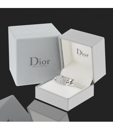 Dior Gourmette diamonds and gold ring