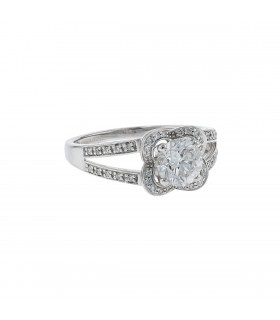 Mauboussin Chance of Love N°10 diamonds and gold ring