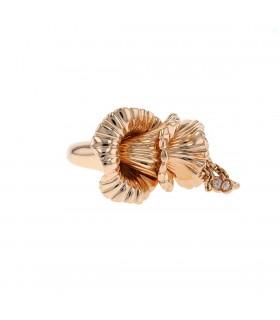 Boucheron Exquises Confidences diamonds and gold ring