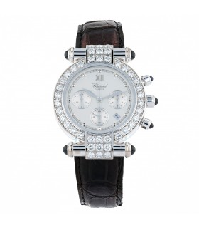 Chopard Imperiale diamonds and steel watch