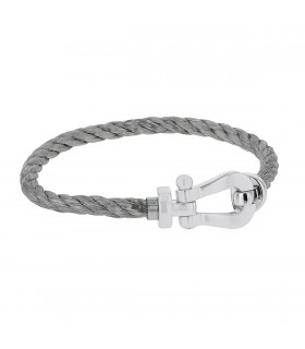 Fred Force 10 steel and gold bracelet