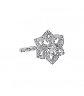 Boucheron Pensée de Diamants diamonds and gold ring