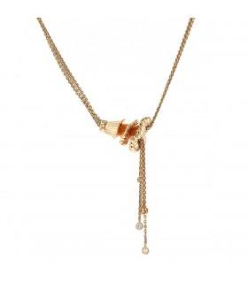 Boucheron Exquises Confidences diamonds and gold necklace