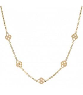 Poiray Coeur Entrelacé gold necklace