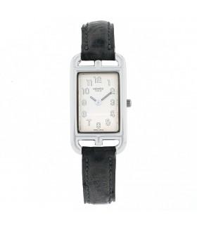 Hermès Cape Cod silver watch