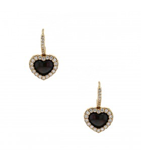 Dior Happy Birth diamonds, opale and gold earrings