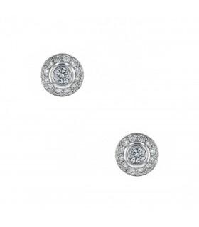 Mellerio Dits Meller diamonds and gold earrings